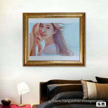 Picture frame factory wholesale with PS frame moulding