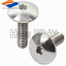 titanium dome head screw