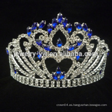 Blue tiara beauty custom color pageant crowns