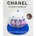 Trendy Custom Plastic Acrylic Girl Color-matching Snapback Caps China Factory