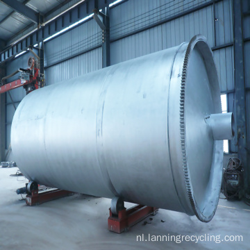 Lanning afvalrecyclingsmachines