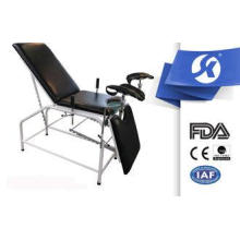 Powder Coated Medical Equipment Gynecological Table / Bed F