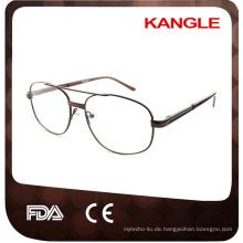 Neue preiswerte wirtschaftliche Grundlinie Man Metall optische Rahmen / Metall Brillen