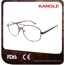 New Cheapest Economic basic line Man metal optical frames / metal eyeglasses