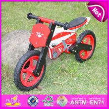 2015 Exhibition Item Wooden Toy Bike for Kids, Promotion Gift Wooden Balance Bike, High Quality Children Wooden Bike Toy W16c013