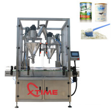 Glass Plastic Bottle Can Powder Filler Packing Machine