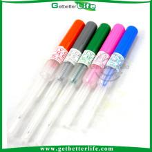 Piercing agujas 6g con tubo guía