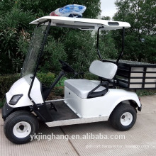 Elecric police golf cart with cargo box from China(mainland) for sale