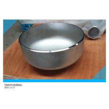 ANSI B16.9 Бесшовная крышка из нержавеющей стали для стыковой сварки