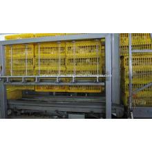 Apilador de cajas y máquina Destacker