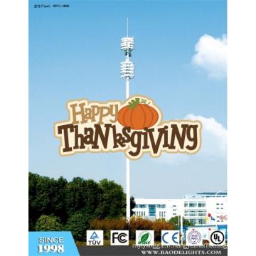 Tour de communication 30m-60m en acier Q235 pour Thanksgiving