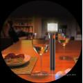 USB de entrada y salida con la luz protectora de ojos ligero Graceful y lámpara de escritorio 2 en 1 linterna multifunción