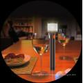Entrada e saída USB com visão protegem luz tocha graciosa e lâmpada de mesa 2 em 1 lanterna multifuncional