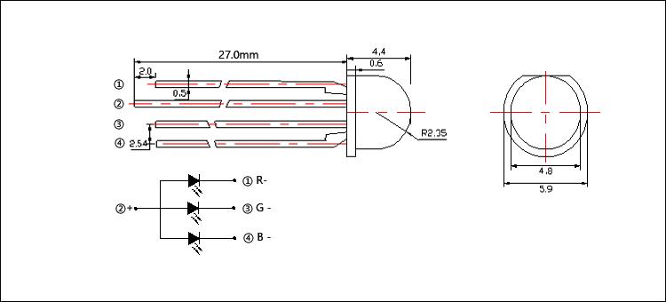 5mm RGB LED