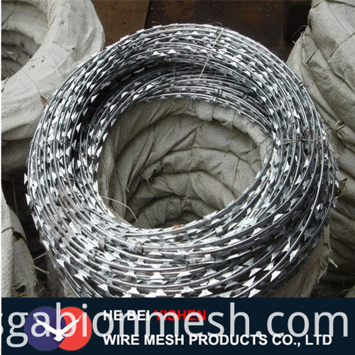razor barbed wire packing