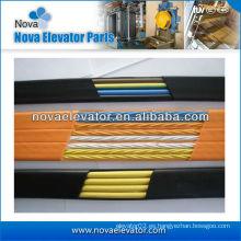 Elevador plano Cable de elevación del cable, Cable de elevación del elevador para el sistema de control del elevador
