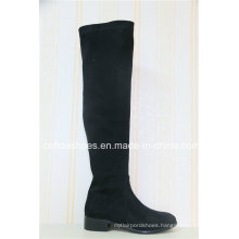 Elegant Fashion Winter Long Low Heel Lady Boot