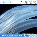 Haute qualité médicale de tuyau en caoutchouc de silicone transparent de 4mm