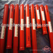 Tubo DN125 * 4.5 * 3000mm da bomba concreta de Putzmeister com flange 148mm