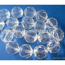 Granos de rondelle de cristal grado AAA