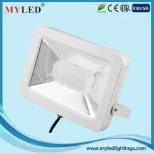 2015 Neues dünnes Entwurfs-weiße Farbe SMD LED-Chips-Anzeige 30w führte Flut-Licht