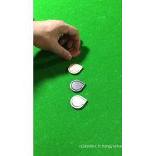 Support de bague en métal de doigt de conception de 360 degrés tournant le support de bague pour les téléphones mobiles