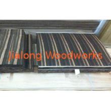 Sliced Cut Natural Flooring Veneer Amara Ebony With Straigh