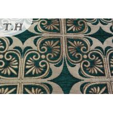 Chenille Jacquard Sofa Fabric Fabricación en Haining