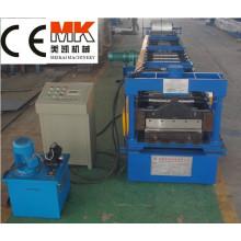 YX6-110-600 máquina de fabricación de perfiles de aluminio para piso, máquina formadora de rollos en frío