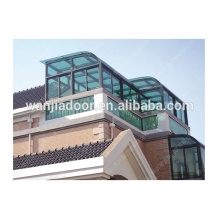 Roof window aluminum green house