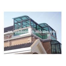 Мансардное окно алюминиевый зеленый дом