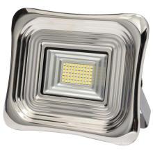 Holofote solar de aço e alumínio 30 w