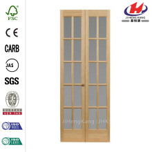 Classic French 10-Lite Opaque Interior Bi-fold Door