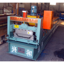 Máquina formadora de rollos de paneles para techos