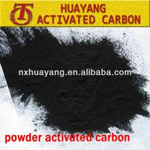 azul de metileno 200ml / g polvo de carbón activado para decolorar el azúcar