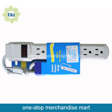 8 Way Socket Power Outlet  with Individual Switches
