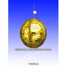 30CM bola de espelho de ouro / bola de disco / bola de mosaico