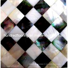 Mosaïque de mosaïque de coquille de nacre (HMP65)