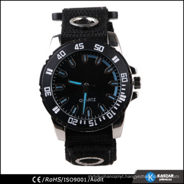 black big dial watch for old people, china watch manufacturer