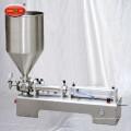 Machine de remplissage liquide de piston manuel de haute qualité à vente chaude avec deux têtes de remplissage