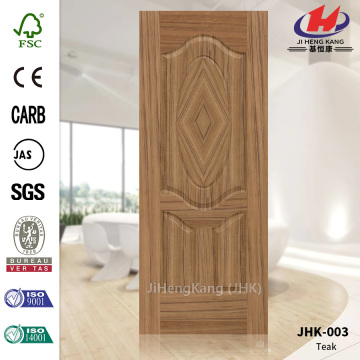 New Design Solid Wooden Teak Masonite Interior Doors