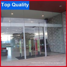 Puerta corredera automática de vidrio completo con buena calidad