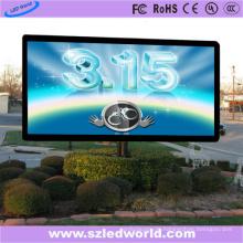 P6 im Freien befestigtes farbenreiches LED-Werbungs-Bildschirm-Brett
