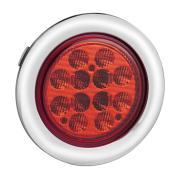 """4 """"DOT LED Trailer Đuôi Xe tải đuôi chrome grommet"""
