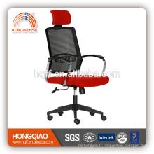 CM-B207AS-1 appuie-tête chaise en maille 2017 chrome accoudoir chaise de bureau