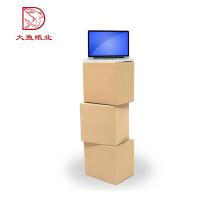 Carton ondulé carré créatif créatif de taille différente créative