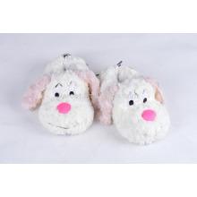 cuit fluffy warm winter indoor slipper custom audit plush slipper