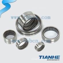 Flat um rolamento de rolos de agulhas para rolamento de máquina de impressão