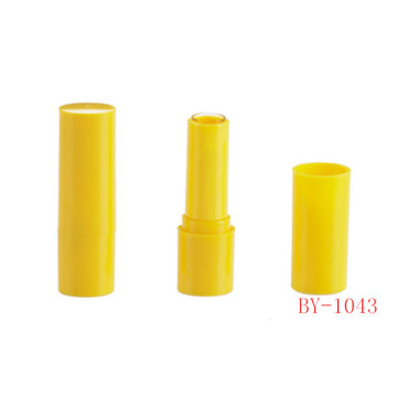 Simple Vivid Yellow Lipstick Tube
