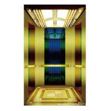 High-rise luxury passenger elevator with small machine-room